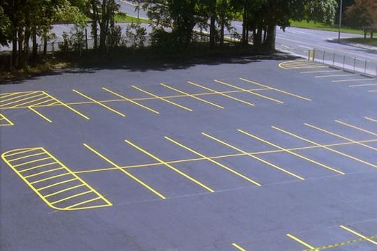 parking lots marking