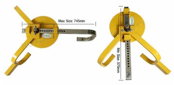 PW3 Series Car Wheel Lock