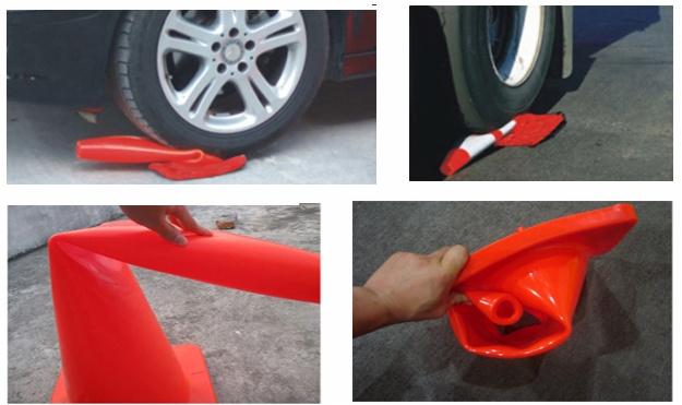 pvc traffic cones quality test