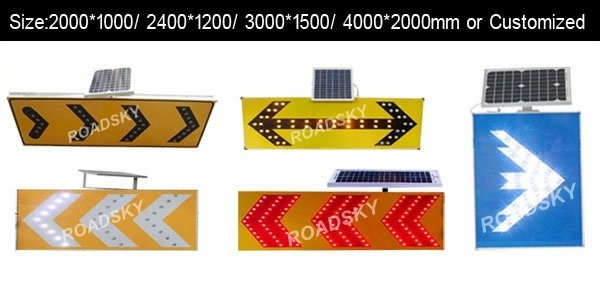 big size led trafficsigns